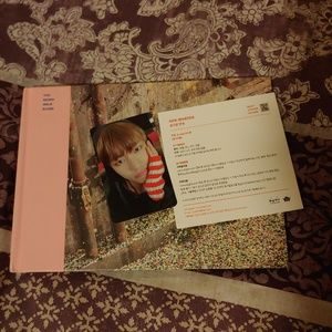 bts photo book and photocard